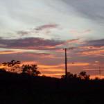 tramonto a manaus