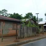 alcune case di Novairào