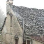 il tetto in pietra