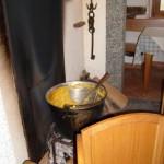 la polenta sul fuoco
